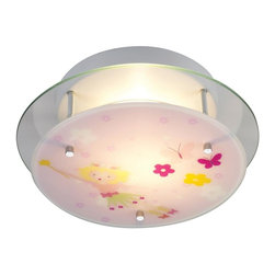Elk Lighting - Elk Lighting-21008/2-Novelty 2 - Light Semi Flush - Fun for all ages These whimsical Lighting fixtures will put a smile on you or your child's face with a myriad of shapes and themes meant to stir the imagination and create a lighthearted environment