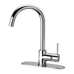LaToscana Kitchen Faucets - Elba 78PW591 Pull Down Spout - Brushed Nickel - Latoscana 78PW591
