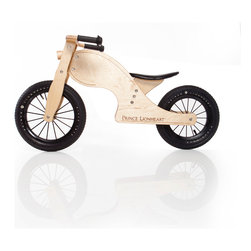 Prince Lionheart - Prince Lionheart Chop Balance Bike - Prince Lionheart's award winning Chop balanceBIKE will teach your child how to balance a crucial skill necessary before transitioning to a two-wheeled pedal bicycle. Your child's sense of independence and self-confidence will become apparent as they learn to balance and steer at their own pace: first walking, then gliding. Have fun. Adult assembly required. Always wear a safety helmet and don't ride at night.