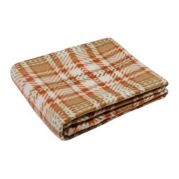 Blancho Bedding - [Brown/Green Twills] Soft Coral Fleece Throw Blanket (59 by 71 inches) - The Coral Fleece Throw Blanket measures 59 by 71 inches. Whether you are adding the final touch to your bedroom or rec-room, these patterns will add a little whimsy to your decor. Machine wash and tumble dry for easy care. Will look and feel as good as new after multiple washings! This blanket adds a decorative touch to your decor at an exceptional value. Comfort, warmth and stylish designs. This throw blanket will make a fun additional to any room and are beautiful draped over a sofa, chair, bottom of your bed and handy to grab and snuggle up in when there is a chill in the air. They are the perfect gift for any occasion!