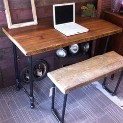 Reclaimed Desk - Brent Hollenberg