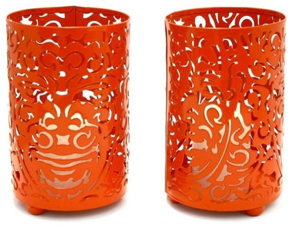 Eclectic Candles And Candle Holders by House & Hold