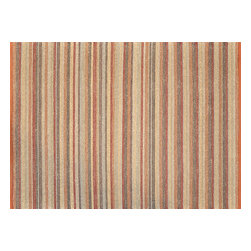 Loloi - Loloi Green Valley Collection GREEGV-02TS003656 Rug - Hand woven in India of seagrass and cotton, the Green Valley Collection breathes organic beauty in the floors of any home with these solid and striped designs. And with a raw textural surface, Green Valley adds a distinctly natural vibe to the room.