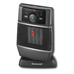 Kaz Inc - Cool Touch Heater - Honeywell Cool Touch Comfort Heater - Black w/ cool touch housing, safe powerful ceramic heating, auto-off hi-limit switch, oscillating function, easy touch electronic controls, back up thermal circuit, adjustable electronic thermostat, and tip over switch