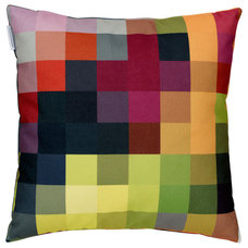 Modern Decorative Pillows by Zuzunaga