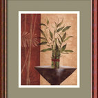 Amanti Art - Lucky Bamboo I Framed Print by Eugene Tava - Add an Asian touch to your decor with this gallery quality print by Eugene Tava. Delicate branches of bamboo—believed to bring good fortune—captured in subtle colors create a soothing mood anywhere.