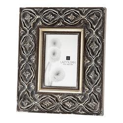 "Lazy Susan - Hand Carved Ornate Frame, 4 X 6 - -Use 4""X 6"" Photo"