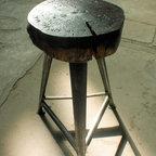 European vintage industrial furniture - Stool no. 13