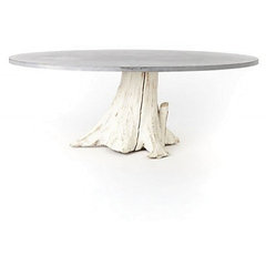 eclectic dining tables by Anthropologie