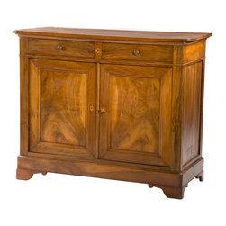 Fine 19th century Italian Walnut Sideboard Credenza - The HighBoy, Fatto a Mano