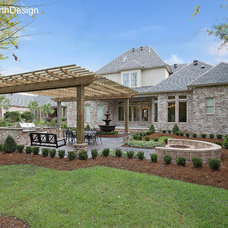 Traditional Patio by Hollingsworth Design