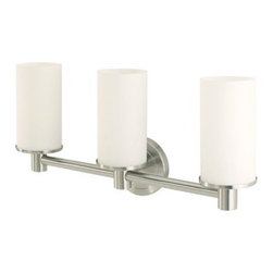 Gatco - Gatco 1687 Latitude II Triple Sconce, Satin Nickel - Gatco 1687 Latitude II Triple Sconce, Satin Nickel You will be proud to hang this in your bathroom. The latitude II towel bar in satin nickel is available in both 18-Inch and 24-Inch lengths. Its classic satin nickel finish, simple style and modern design will give your bathroom a sophisticated look. If you are fond of this product you will love the rest of the latitude II collection, from Gatco w/ its sleek lines, to complete your bathroom accessory set.