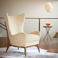 Midcentury Living Room Chairs by Bed Down