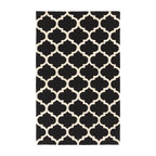 Artistic Weavers - Artistic Weavers Pollack Stella (Black, White) 5' x 8' Rug - This Hand Woven rug would make a great addition to any room in the house. The plush feel and durability of this rug will make it a must for your home. Free Shipping - Quick Delivery - Satisfaction Guaranteed