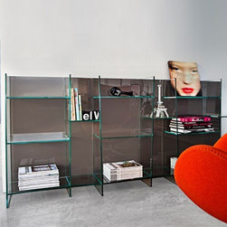 Sovet Italia - Sovet Italia | Delphi Low Bookcase - Design by Studio Sovet, 2012.