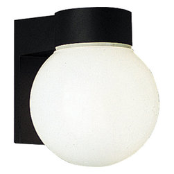 Progress Lighting - Progress Lighting P5698-31 Hard-Nox Two-Light Impact-Resistant Cast Aluminum - Named for its impact-resistant durability in high traffic areas, the wet location-listed Hard-Nox collection works well in both indoor and outdoor applications. White, Black or Satin Aluminum finishes, along with polycarbonate or acrylic diffusers, complement a variety of shapes. Tough enough to stand up to the wear and tear of rough usage in high traffic areas both indoors and outdoors, Hard-Nox is ideal for garages, workrooms and as outdoor security lighting.Features: