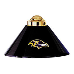 Imperial International - Baltimore Ravens NFL 3 - This lamp is a great way to properly light your Pool Table while showing off your team spirit then. It has 3 metal shades with your favorite team's logo proudly displayed on them. Looks great in any game room. Rack 'Em Up!