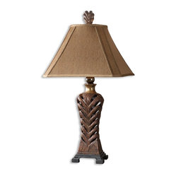 Barclay Copper Bronze Table Lamp