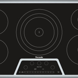 Thermador - 36 inch Masterpiece® Series Induction Cooktop CIT365KB - Exclusive induction component technology enables us to give you the most advanced Induction Cooktops available. They are as responsive as gas and as convenient as electric.