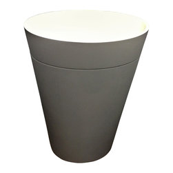 ADM - ADM Matte Grey Solid Surface Stone Resin Sink - DW-188G