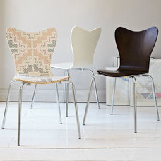 modern dining chairs and benches Scoop-Back Chair | west elm