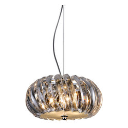Bromi Design Polaris 4-Light Crystal Pendant