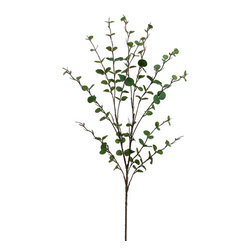 Silk Plants Direct - Silk Plants Direct Eucalyptus (Pack of 12) - Green - Silk Plants Direct specializes in manufacturing, design and supply of the most life-like, premium quality artificial plants, trees, flowers, arrangements, topiaries and containers for home, office and commercial use. Our Eucalyptus includes the following: