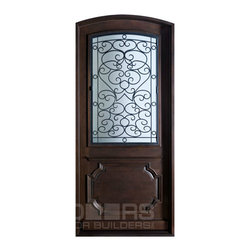 Heritage Collection (Custom Solid Wood Doors) - Custom Front Entry Door -  Heritage Collection - Doors For Builders Inc.