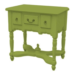 Trade Winds - New Trade Winds Entry Table Green Painted - Product Details