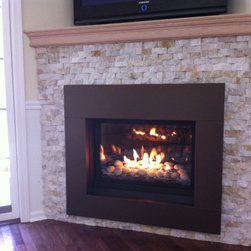 New Gas Fireplace, Greenport, NY - Beach Stove and Fireplace