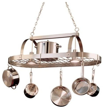 contemporary pot racks by Lamps Plus