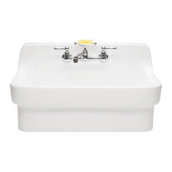 American Standard - American Standard Country Kitchen Sink, White (9062.008.020) - American Standard 9062.008 Country Kitchen Sink, White