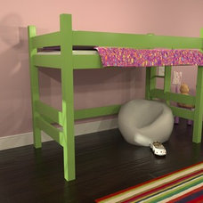 Contemporary Kids Beds by Maine Bunk Beds