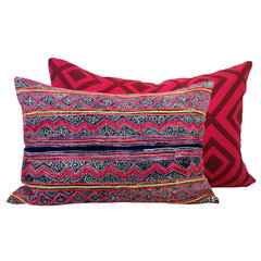 eclectic pillows by Shoppe By Amber Interiors