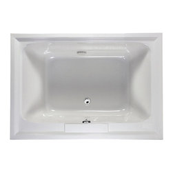 American Standard - Town Square 60 inch x 42 inch Acrylic Tub in White - American Standard 2748.002.020 Town Square 60 inch x 42 inch Acrylic Tub in White.