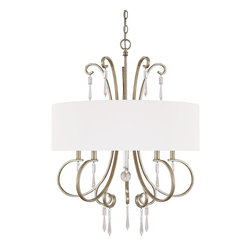 Capital Lighting - Capital Lighting Simone Transitional Chandelier X-RC-365-GW4644 - Capital Lighting Simone Transitional Chandelier X-RC-365-GW4644
