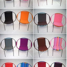 Contemporary Outdoor Chairs by Plastica