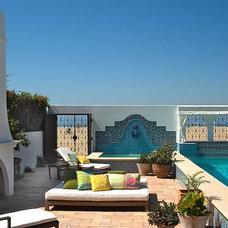 Mediterranean  Pool Chris Barrett Design