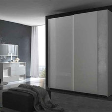 Modern Dressers Chests And Bedroom Armoires Nightfly Sliding 2 Door Modern Wardrobe By Rossetto