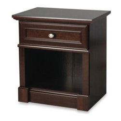Child Craft - Child Craft Wadsworth Nightstand in Cherry - The Wadsworth nightstand has a timeless, classic style but meets the needs of the modern nursery. The drawer has easy-glide metal runners and a safety-stop feature.