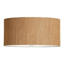 Hampstead Lighting - Panier Brown 26in. Ceiling Light - Panier Brown 26in. Ceiling Light