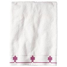 Traditional Bath Towels Berry Gobi Bath Towel