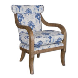 Uttermost - Uttermost - Kaiden Armchair - 23137 - Features: