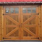 Brittania braced carriage doors -