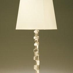 FRAGILE Petite - New for 2014 - Bronze table lamp