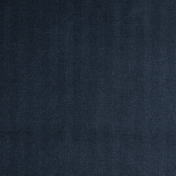"Ballard Designs - Davidson Herringbone Indigo Fabric by the Yard - Content: 82.93% rayon, 15.37% polyester and 1.70% nylon. Repeat: Railroaded fabric with 2.5"" repeat. Care: Dry clean. Width: 56.75"" wide. Solid indigo in herringbone weave of soft rayon blend. .  .  .  . Because fabrics are available in whole-yard increments only, please round your yardage up to the next whole number if your project calls for fractions of a yard. To order fabric for Ballard Customer's-Own-Material (COM) items, please refer to the order instructions provided for each product.Ballard offers free fabric swatches: $5.95 Shipping and Processing, ten swatch maximum. Sorry, cut fabric is non-returnable."
