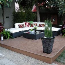 Contemporary Outdoor Sofas by LA Outdoor Furniture