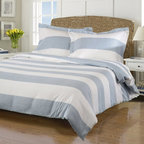Impressions - Impressions Cotton Rich 600 Thread Count Cabana Duvet Cover Set - CR600TWDC CABK - Shop for Bedding Sets from Hayneedle.com! Create the ultimate tropical retreat in your own bedroom with the Impressions Cotton Rich 600 Thread Count Cabana Duvet Cover Set. Each set includes a duvet cover with clear buttons and two pillow shams (one with Twin size). The duvets are made with a superior blend of cotton and polyester to be silky soft machine washable and wrinkle-resistant. The set is available in a variety of size and color options. Dimensions:Twin duvet cover: 86L x 68W in.Full / Queen duvet cover: 92L x 90W in.King / California King duvet cover: 106L x 92W in.Pillow shams: 20L x 36W in. eachLarge Pillow shams: 20L x 26W in.About Home City Inc.Established in the 1980s in Queens New York selling towels and lower-thread-count sheets Home City Inc. started in small office and has developed into a worldwide manufacturing and importing company based out of Brooklyn NY. They were able to establish the name Home City Inc. in 2003 which set the tone for the growth in a company that boasts over 25 years of experience in production. Over the years Home City has developed and perfected unparalleled quality products that now serve domestic and international retail stores. Today Home City's fulfillment center is located in Linden NJ with a showroom on Fifth Avenue in New York NY allowing them to provide their customers with an expanded selection of sheet sets duvet cover sets bed skirts pillowcase sets bed-in-bag sets down comforters mattress toppers pillows quilts robes towel sets and more.