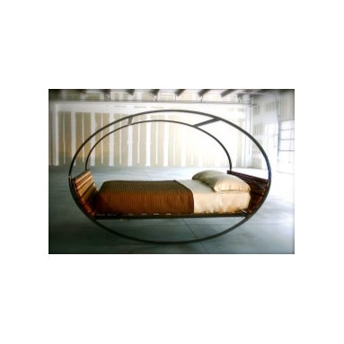 Eco Friendly Furnture and Lighting - Mood Rocking Bed.Mood Rocking Bed. Bed is indoor and outdoor. It can be left to rock or freeze it in any position with rubber stops. This is the ultimate bed for everything you do in bed. Dream your dreams, love your lover and rest your soul in the Mood Rocking Bed. Available in all sizes.