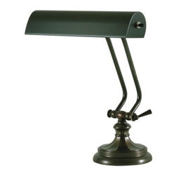 House of Troy - House of Troy P10-123-81 10 Inch Piano/Desk Lamp In Mahogany Bronze - House of Troy P10-123-81 10 Inch Piano/Desk Lamp In Mahogany Bronze